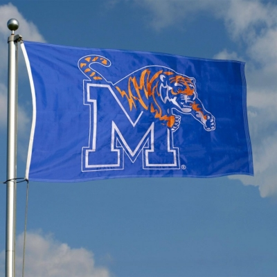 Memphis Tigers Embroidered and Stitched Nylon Flag
